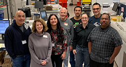 Photo of Graphic Services team members